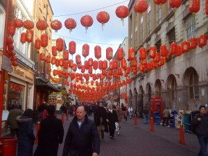 Raising red lanterns all through Soho