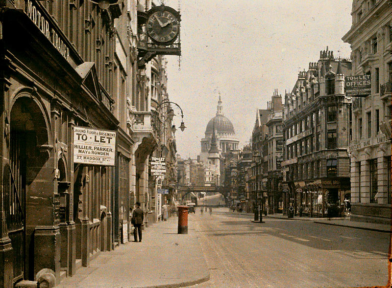 "10 comments on ""more old london in colour"""