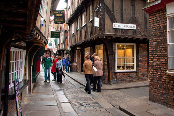 Taken From: http://www.christopherfowler.co.uk/blog/wp-content/uploads/2010/03/York-Shambles.jpg