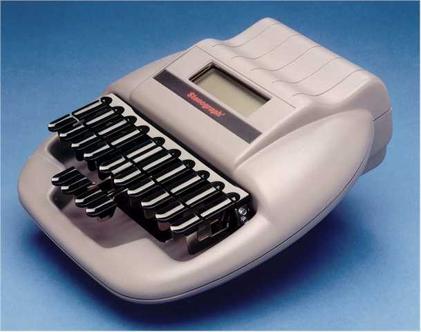 machine stenography