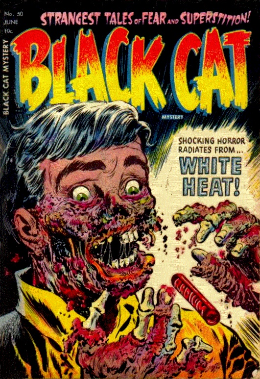Vintage Comic Book Cover : My unhealthy obsession with american horror comics