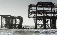 Brighton's ruined West Pier