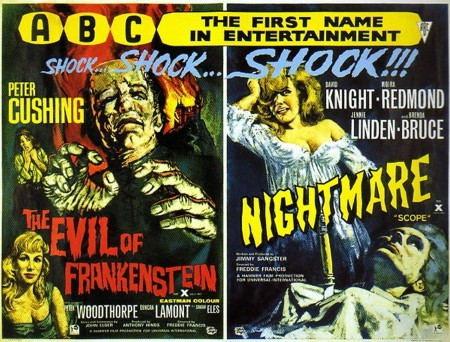 THE-EVIL-OF-FRANKENSTEIN-and-NIGHTMARE-abc-double-bill