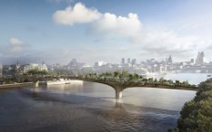 Garden bridge, architecture feature
