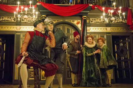 The Knight of the Burning Pestle performed at the Globe Theatre