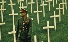 John Mills in the film adaptation of Oh, What a Lovely War!