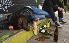 Drunk in public