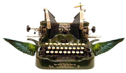 winged-typewriter
